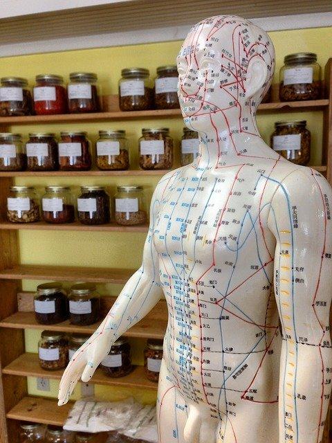 de que trata la acupuntura