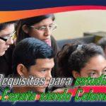 Requisitos para estudiar en España siendo Colombiano