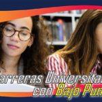 Carreras Universitarias Con Bajo Puntaje